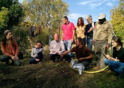 Formation éco jardins Terre Vivante - octobre 2018