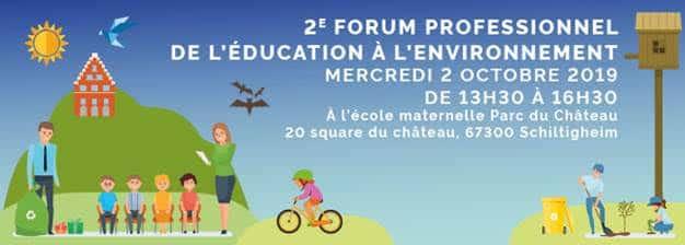 2 octobre 2019: Forum EEDD à Schiltigheim