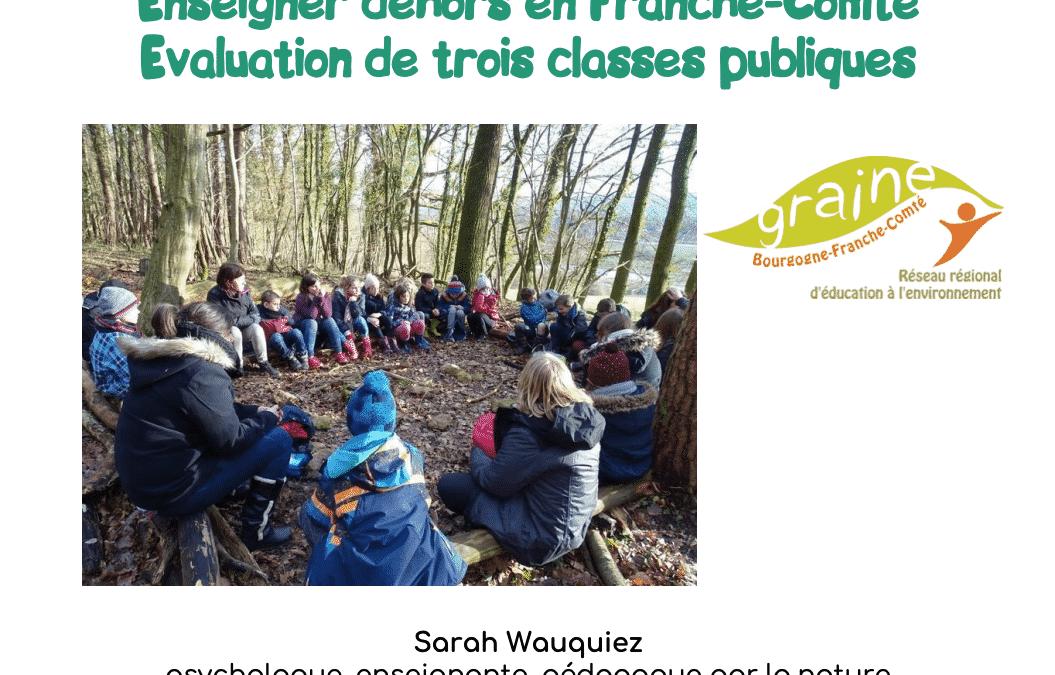 Enseigner dehors > en Bourgogne-Franche-Comté