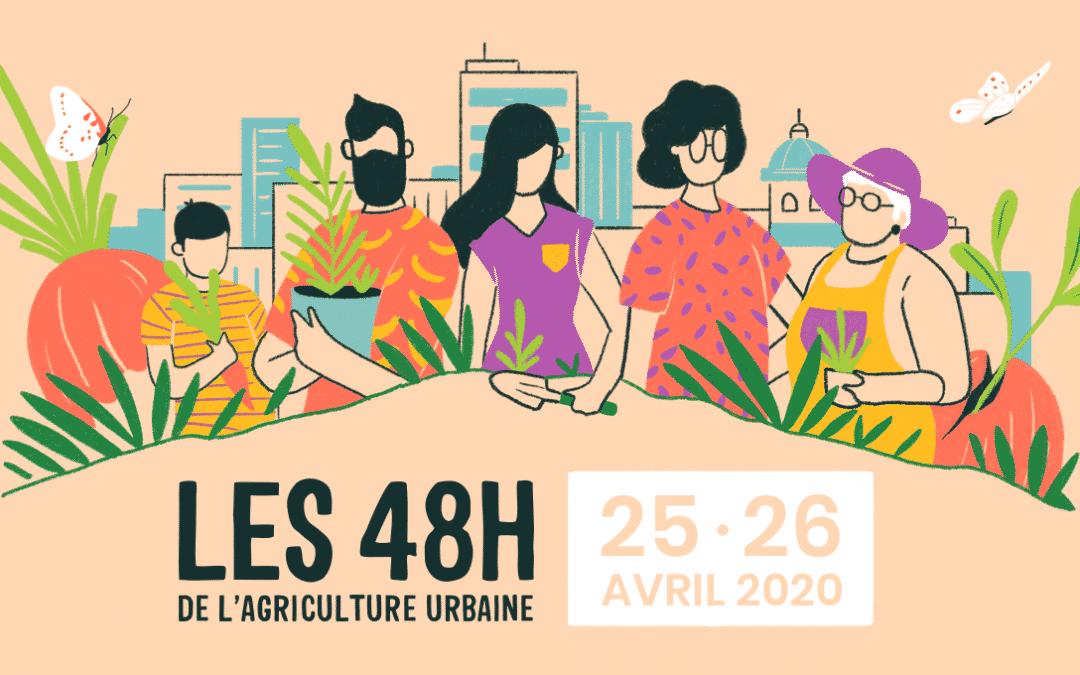 Les 48H de l'agriculture urbaine, à Strasbourg et dans 17 villes de France & Belgique