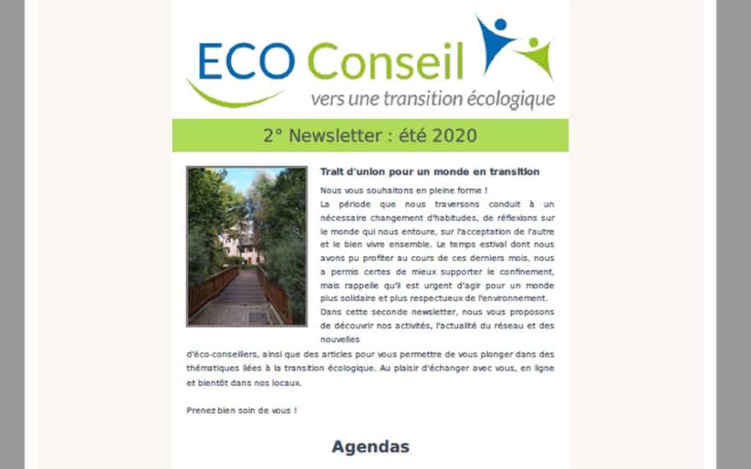 2° Newsletter d'ECO-Conseil
