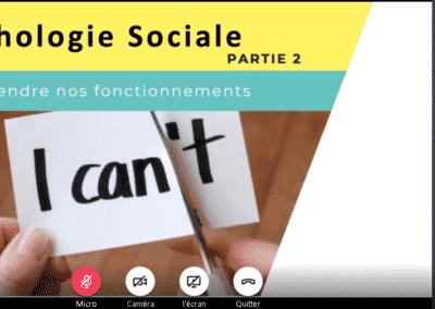 Changement de comportement avec la psychologie sociale