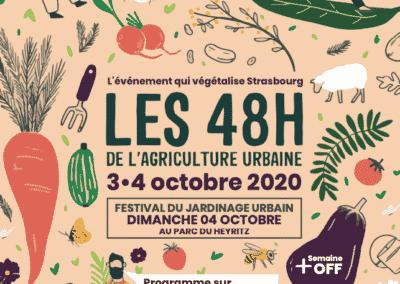 48H de l'agriculture urbaine à Strasbourg