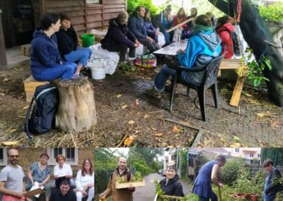 Accompagnement de jardins collectifs