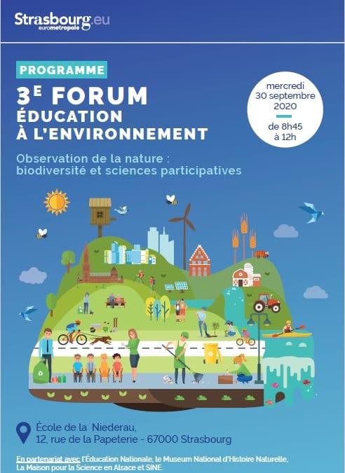 3ème forum éducation environnement