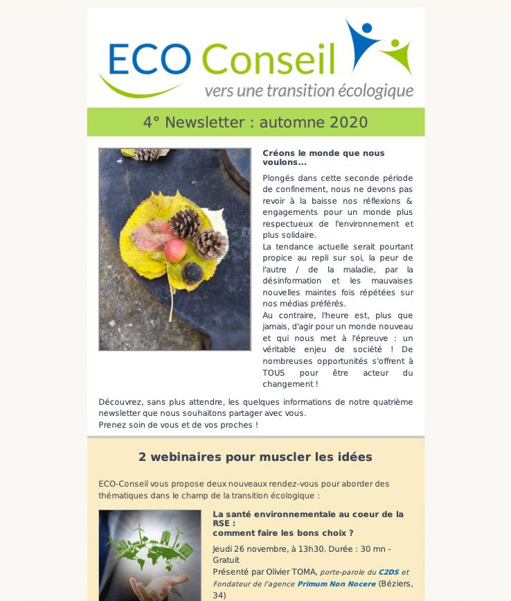 Newsletter d'ECO-Conseil-4