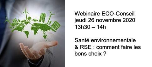 Santé environnementale et RSE: comment faire les bons choix?