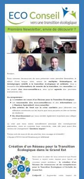 1ère Newsletter_ECO-Conseil