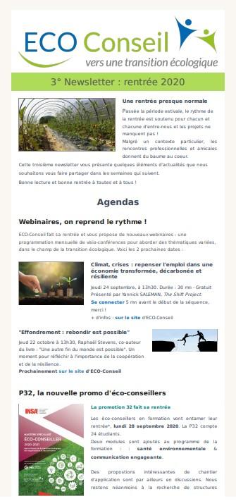 3ème Newsletter_ECO-Conseil