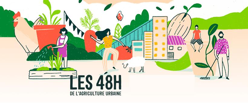 Les 48H de l'agriculture urbaine, édition 2021