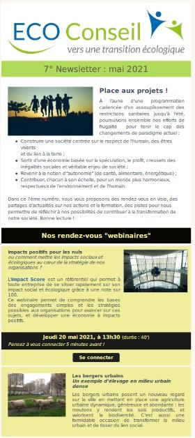 7ème newsletter_ECO-Conseil