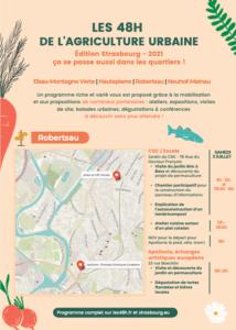 48H agriculture urbaine Quartiers Strasbourg